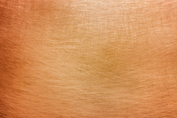 Copper or brass background, texture of non-ferrous metal
