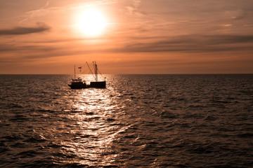 Sunrise at Ijsselmeer _______________________________________________