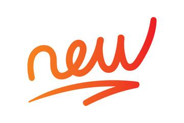 handwriting new word vector
