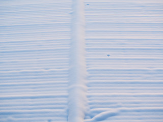Pure white snow surface - texture