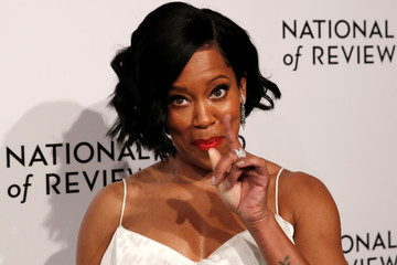 Actor Regina King poses for photographers as she arrives for the National Board of Review Awards gala in New York