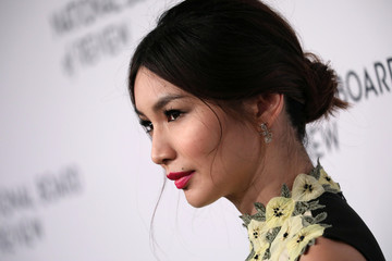 Actor Gemma Chan poses for photographers as she arrives for the National Board of Review Awards gala in New York