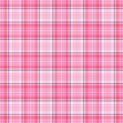 Seamless Plaid in Pink, Purple, & White