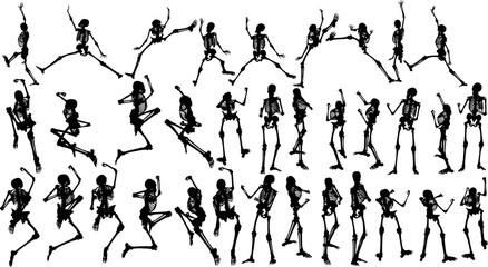 人体模型のシルエット