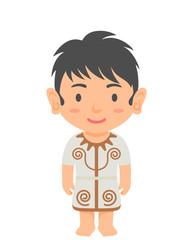 縄文時代の男の子