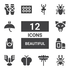 beautiful icon set