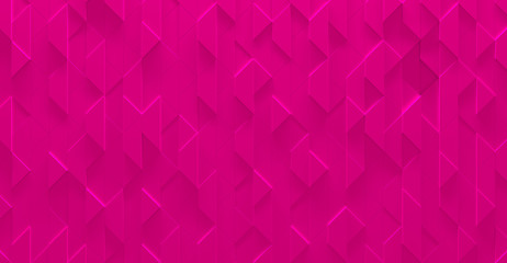 Bright Pink Glowing Girly Background (3D Illustration)