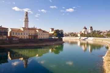 Verona sull'adige