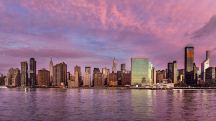 Midtown skyline, New York City, USA