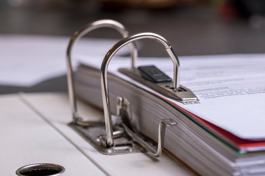 Close-up Photo Of File Folder With Documents