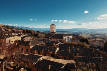Assisi, medieval italian city