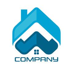 Real Estate & Web & Letter w Logo