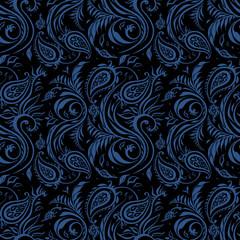 Paisley. Ethnic ornament. Hand Drawn Boho Vector illustration. Vintage fashion seamless pattern