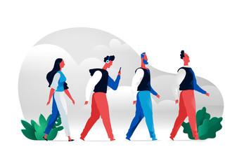 Walking Characters