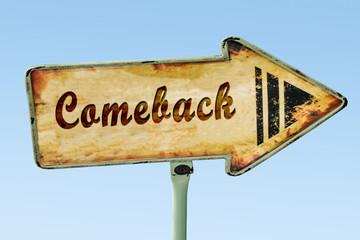 Schild 328 - Comeback