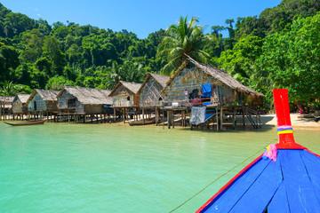 Morgan village, Mu Koh Surin national park, Andaman sea, Phang Nga, Travel in Thailand