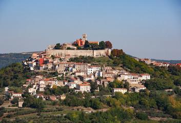Croatia, Istria, Motovun, Old town