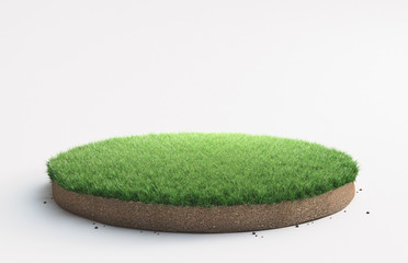 Ground layer or podium