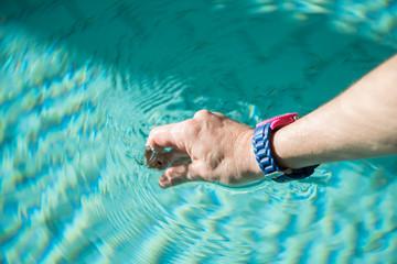 PH-Wert Messung im Schwimmbad