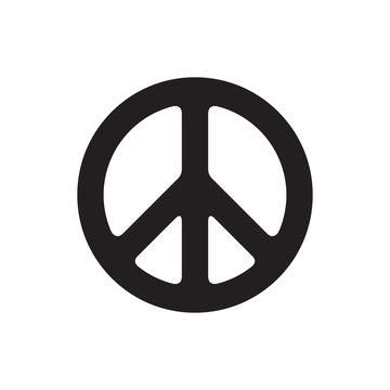 Peace symbol vector illustration