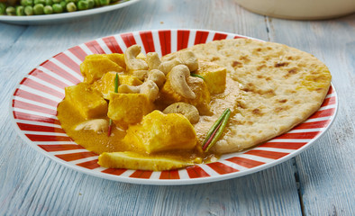 Creamy Cashew Indian Butter Paneer