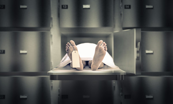 man in the morgue