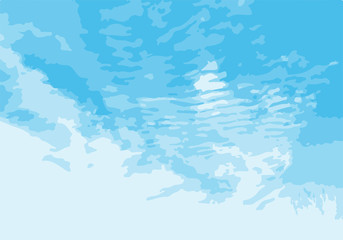 Cloudy sky natural landscape. Blue sky with white cirrus clouds. Blue white sky background.1