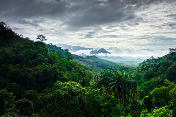 Khao Sok National Park landscape, Thailand