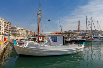 Athens. Port Piraeus.