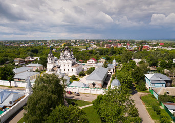 Aerial view of Annunciation Monastery in Murom