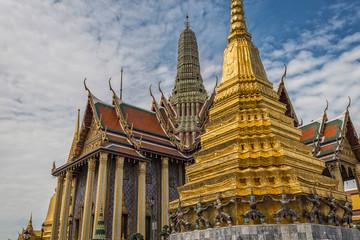Wat Phra Kaew or Wat Phra Si Rattana Satsadaram, , Thailand.
