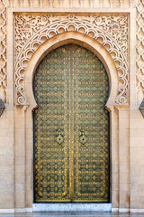 Door at the Mausoleum of Mohammed V, Rabat, Morocco