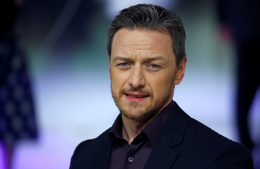 """Actor James McAvoy attends the European premiere of """"Glass"""" in London"""
