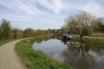 The Union Canal, Ratho, Edinburg