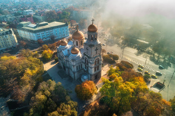 The Cathedral of the Assumption in Varna, Bulgaria
