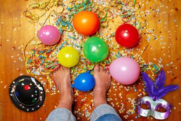 Barfuß an Karneval - Barfoot on party