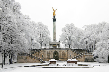 The peace monument in Munich