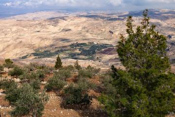 Mountain landscape in Jordan