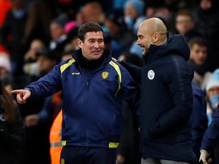 Carabao Cup Semi Final First Leg - Manchester City v Burton Albion