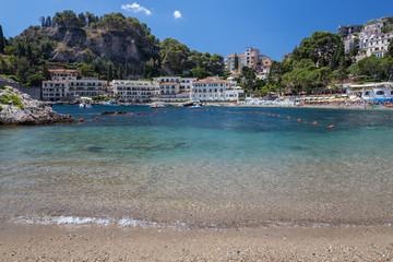 A view in Taormina in Sicily