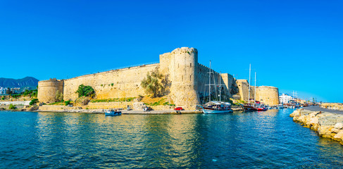 Kyrenia Castle situated in the Northern Cyprus
