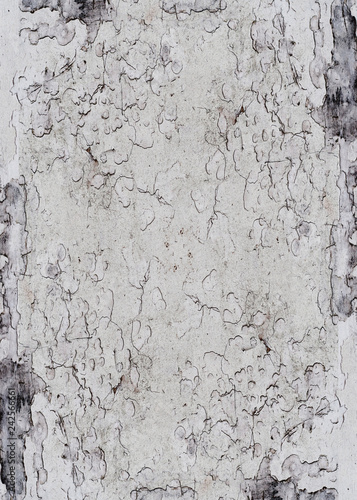 Old Grunge Painted Background With Abstract Antique Cracked