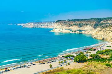Fotobehang Cyprus Kourion beach on Cyprus