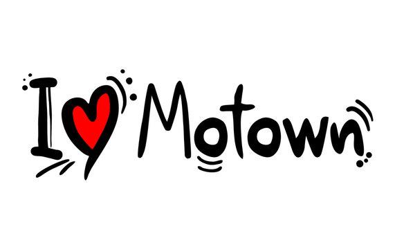 Motown music love