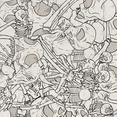 bones illustration background