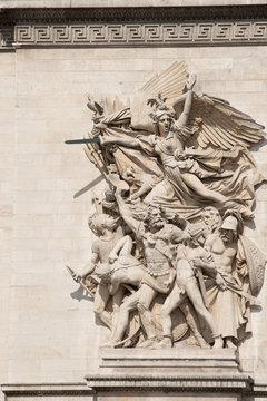 Arc de Triomphe Column Detail
