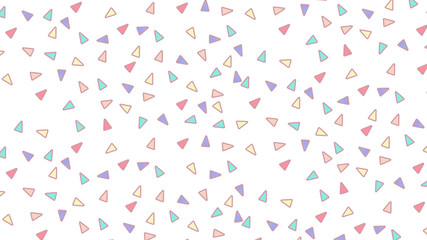 Custom blinds child's with your photo Abstract pattern with triangles in Soft gradient pastel background in sweet color