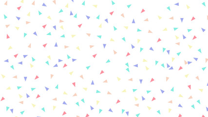 Abstract pattern with triangles in Soft gradient pastel background in sweet color
