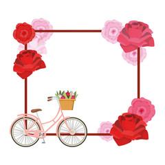 cute roses cartoon