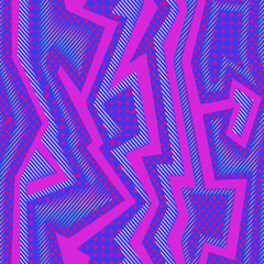 Abstract pink cloth pattern